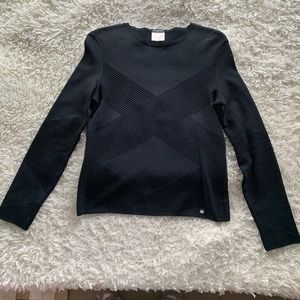 CHANEL Black Sweater